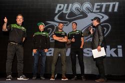 Manuel Puccetti, Hikari Okubo, Toprak Razgatlioglu, Kenan Sofuoglu, Kawasaki Puccetti Racing