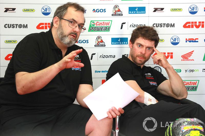 Christophe Bourguignon, ingeniero de pista LCR Honda
