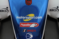 Motorsport.com logo on the #32 United Autosports Ligier LMP2: Will Owen, Hugo de Sadeleer, Paul Di R