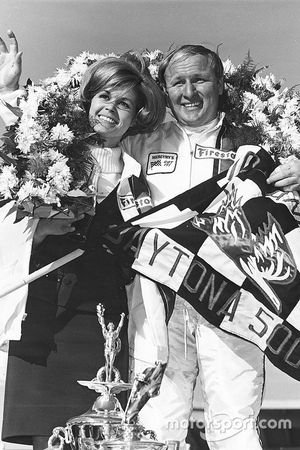 Race winner Cale Yarborough
