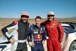 Antione Meo, Sebastien Loeb, Toby Price