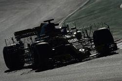 Carlos Sainz Jr., Renault Sport F1 Team RS18 avec des capteurs aéro