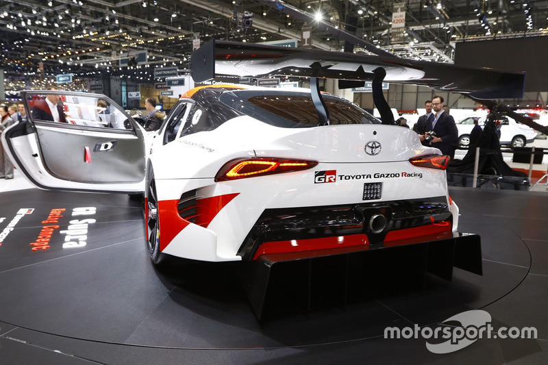 Концепт Toyota GR Supra Racing