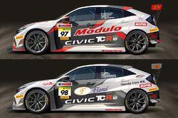 Honda Civic TCR FK7, Team DOME