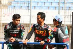 Adam Norrodin, Zulfahmi Khairuddin en Ayumu Sasaki, SIC Racing Team