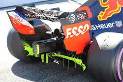 Red Bull Racing RB14, dettaglio posteriore
