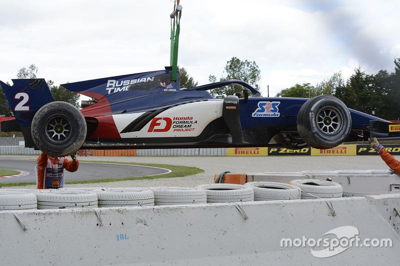 The car of Tadasuke Makino, RUSSIAN TIME