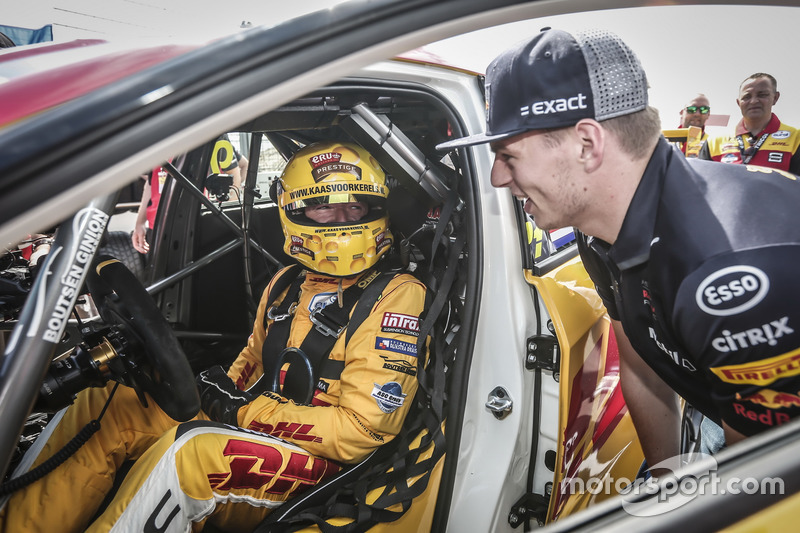 Tom Coronel, Boutsen Ginion Racing Honda Civic Type R TCR con Max Verstappen