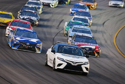 Toyota Camry Pace Car leads Martin Truex Jr., Furniture Row Racing, Toyota Camry Auto-Owners Insurancea and Kyle Busch, Joe Gibbs Racing, Toyota Camry Snickers Intense