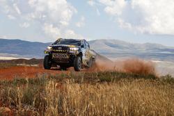 #204 Overdrive Racing Toyota Hilux Overdrive: Aron Domzala, Maciej Marton
