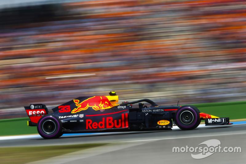 Quarto do grid, Max Verstappen completou a prova na quarta posição