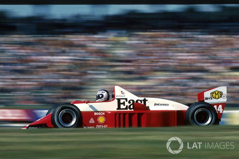 ザクスピード861(1986年ドイツGP)