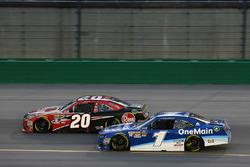 Christopher Bell, Joe Gibbs Racing, Toyota Camry Rheem Elliott Sadler, JR Motorsports, Chevrolet Camaro Chevrolet OneMain Financial