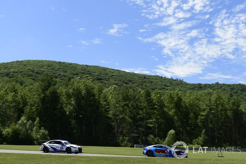 #12 eEuroparts.com Racing, Audi RS3 LMS TCR, TCR: Kenton Koch, Tom O'Gorman, #99 Automatic Racing, Aston Martin Vantage, GS: Rob Ecklin Jr.
