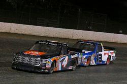 Todd Gilliland, Kyle Busch Motorsports, Toyota Tundra JBL/SiriusXM and Myatt Snider, ThorSport Racing, Ford F-150 Liberty Tax