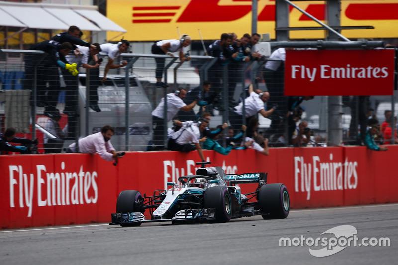 Allemagne 2018 - Lewis Hamilton (Mercedes)