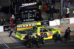 Matt Crafton, ThorSport Racing Toyota, pit stop
