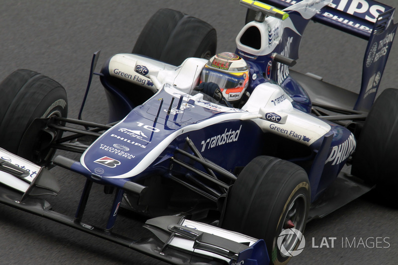 8: Nico Hulkenberg (Williams) 23 02 19, Brazil 2010