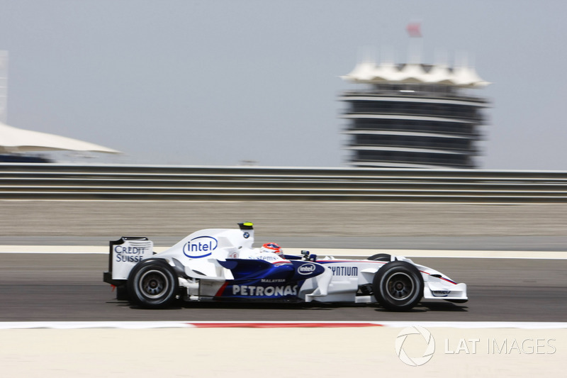 8: Robert Kubica (Sauber-BMW) 23 anos e 4 meses, no GP do Bahrein de 2008