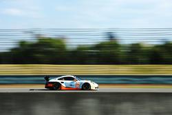 #86 Gulf Racing Porsche 911 RSR: Khaled Al Qubaisi, Ben Barker, Nicholas Foster