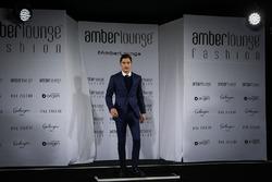 Alfonso Celis Jr. at Amber Lounge Fasion Show