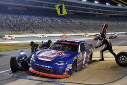 Elliott Sadler, JR Motorsports Chevrolet, makes a pit stop