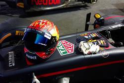 Casco de Max Verstappen, Red Bull Racing