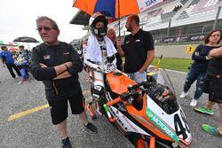 Thomas Brianti, KTM, in griglia di partenza