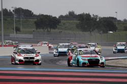 Jean-Karl Vernay, Leopard Lukoil Team Audi RS3 LMS TCR, Jens Reno Møller, Reno Racing, Honda Civic Type R TCR