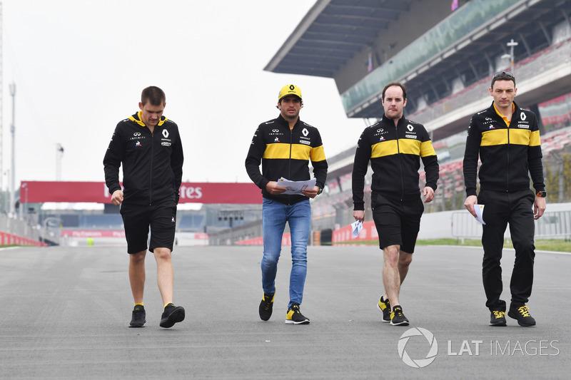Pályabejárás - F1 2018 - Barcelona - csütörtök