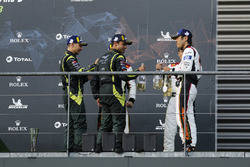 LMGTE Am winners #98 Aston Martin Racing Aston Martin Vantage: Paul Dalla Lana, Pedro Lamy, Mathias Lauda