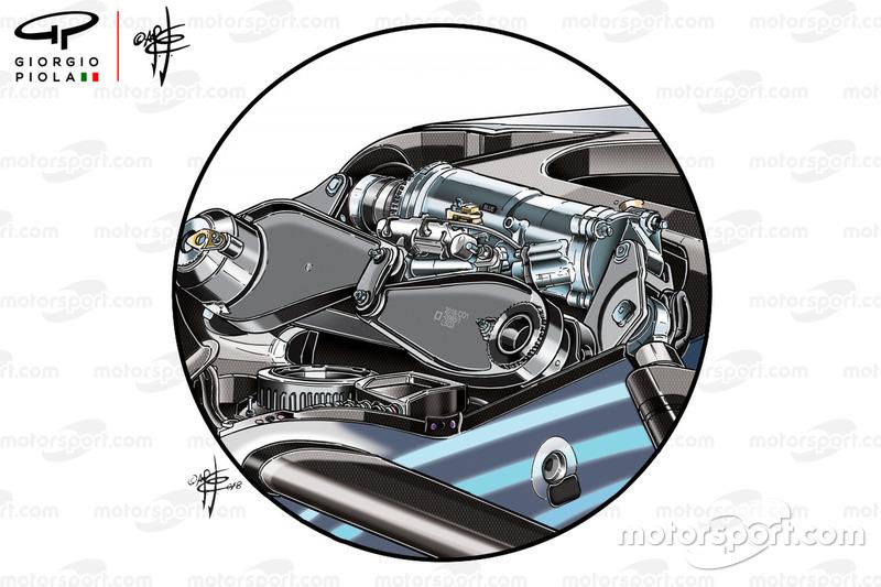 Mercedes W09 damper