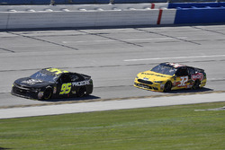 Kasey Kahne, Leavine Family Racing, Chevrolet Camaro Procore Safety Certified and Matt DiBenedetto, Go FAS Racing, Ford Fusion Can-Am/Wholey