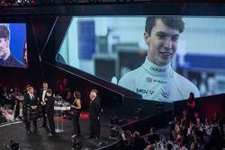 Daniel Ticktum, McLaren Autosport Yılın Genç Sürücü ödülünü kazanıyor