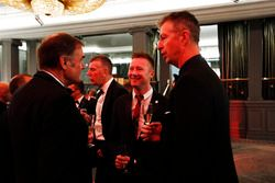 Dick Bennetts talks to Matt Neal and Gordon Shedden