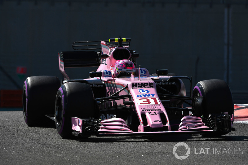 Esteban Ocon, Sahara Force India F1 VJM10 - 2017