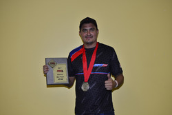 FARA MP4C Enduro Runner-Up Michael Monsalve