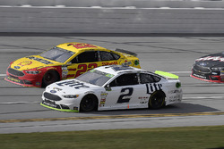 Joey Logano, Team Penske Ford and Brad Keselowski, Team Penske Ford