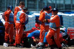 L'accident de Michael Schumacher, Ferrari
