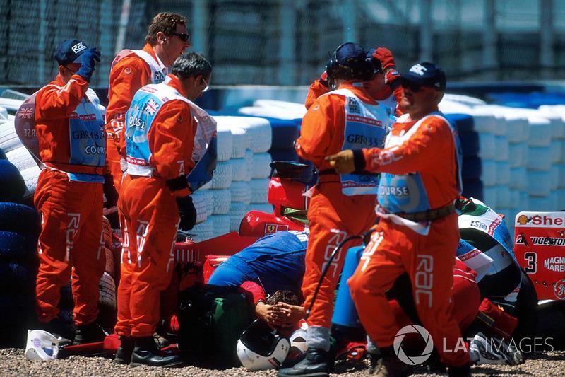Acidente de Michael Schumacher em Silverstone