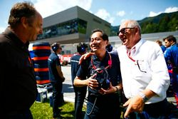 Toyoharu Tanabe, Director Técnico de F1, Honda y Gerhard Berger