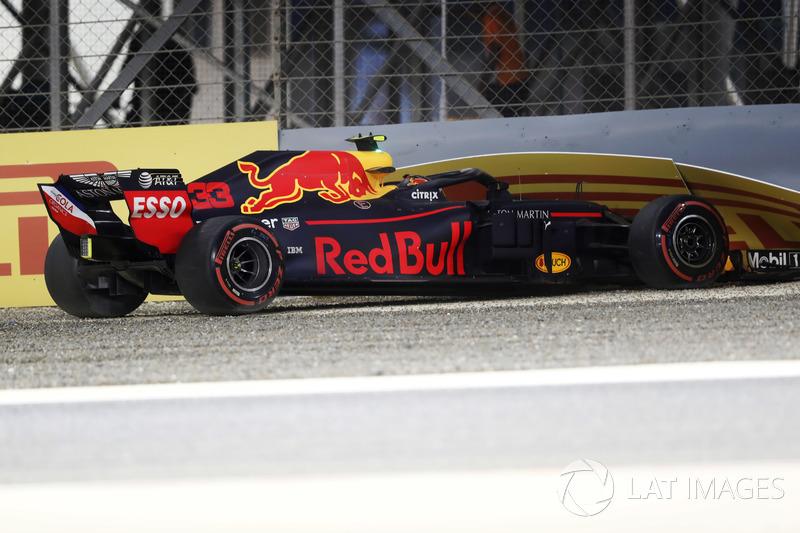 Accidente de Max Verstappen, Red Bull Racing