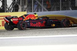 Crash van Max Verstappen, Red Bull Racing