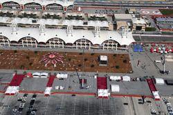 Luchtfoto van Bahrain International Circuit