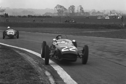 1960 Formula Junior Championship. Goodwood, West Sussex, England. 19th March 1960. Jim Clark, Lotus