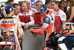 Ganador de pole Jack Miller, Pramac Racing, Dani Pedrosa, Repsol Honda Team