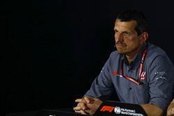 Guenther Steiner, Team Principal Haas F1, nella conferenza stampa