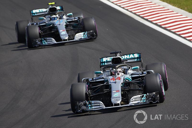 MERCEDES - Lewis Hamilton e Valtteri Bottas