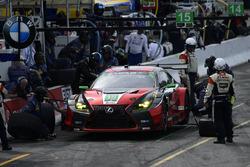 #15 3GT Racing Lexus RCF GT3, GTD: Jack Hawksworth, Mario Farnbacher pit stop.