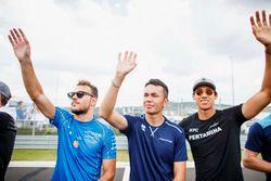 Drivers parade, Luca Ghiotto, Campos Racing, Alexander Albon, DAMS, Sean Gelael, PREMA Racing